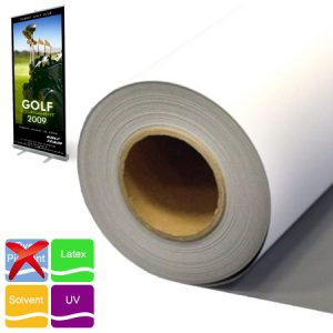 Roll-up film SB/G szürkehátú PP display film