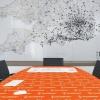 TouchShield antibakteriális és antivírus fólia ATM tárgyalóasztalra aplikálva TEPEDE Hungária Kft.